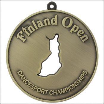 Finland Open mitali