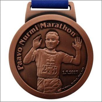 Paavo Nurmi Marathon mitali